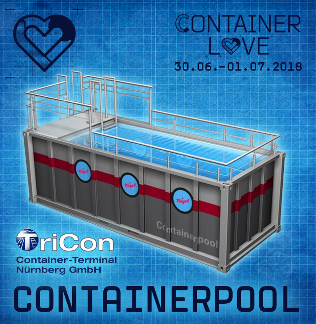 containerpool container love urban electronic music festival. Black Bedroom Furniture Sets. Home Design Ideas